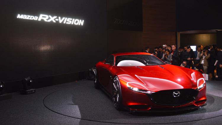 mazda rx vision concept 001 1 Ο επόμενος ρότορας θα είναι τουρμπάτος! Mazda, Mazda RX-9, Mazda RX-Vision Concept, zblog