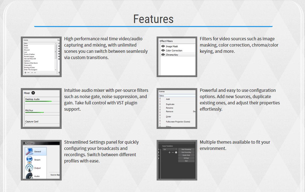 Free Download OBS Studio v 18 0 1 Full Installer