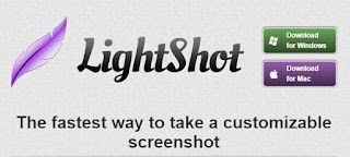 Lightshot is a free and fastest screenshot of desktop selected areas