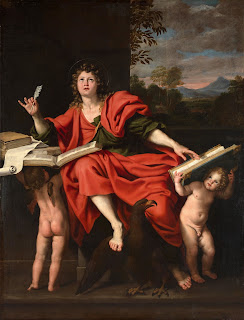 Domenichino's picture St John the Evangelist sold for £9.2 million in 2009