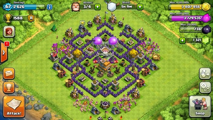Base Coc Th 7 Paling Sulit Ditembus 6