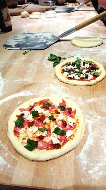 Pizza Making at La Cucina Caldesi, Authentic Italian Cooking School in London