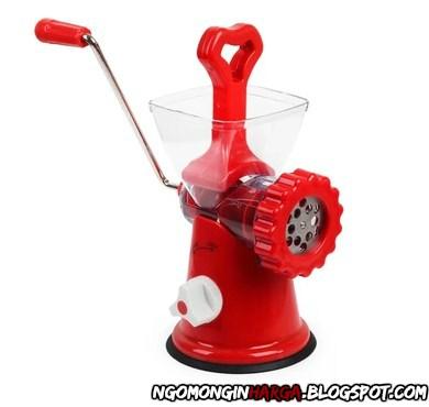 mesin giling daging manual