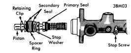 BMW 1963-73 4 Cylinder Brakes Repair Manual Auto Motive