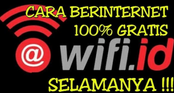 Cara Wifian Gratis Menggunakan Wifi Id