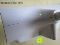 Fuß: GHB dimmbare LED Schreibtischlampe 3-Level Helligkeit 360° flexiblen Schwanenhals Tischlampe -Weiß [Energieklasse A+]