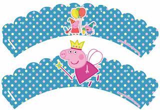 Mini Kit de Peppa Pig Hada para Imprimir Gratis.