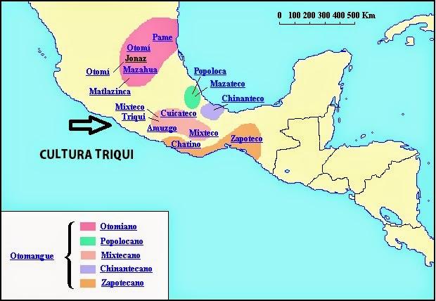 Cultura triqui historia universal for Cultura maya ubicacion