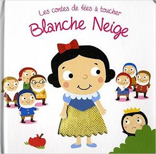Première de couverture Les contes de fées à toucher Blanche Neige Editions TAM TAM