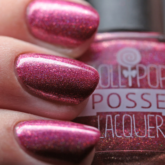 Lollipop Posse Lacquer Fallen Woman in Dancing Costume