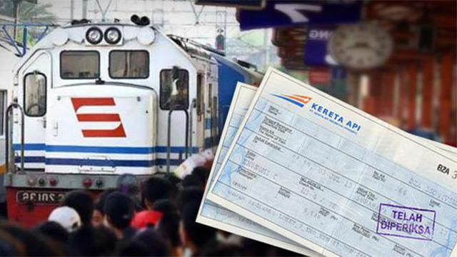 Pemesanan Tiket Kereta Api Lebaran Dibuka Mulai Akhir Februari 2019