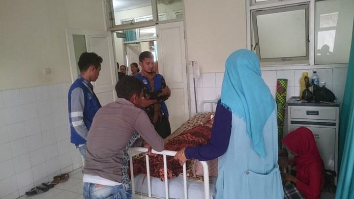 LPD Bantu Biaya Pendampingan bu Ramlah dari Aceh Timur