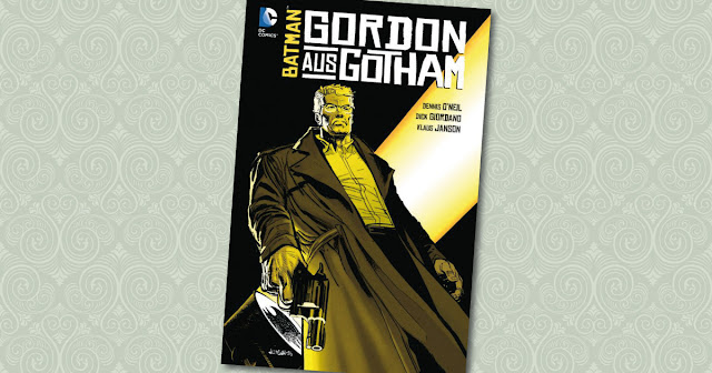 Gordon aus Gotham Panini Cover
