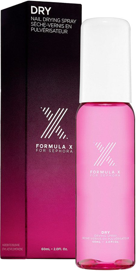 Nail Care Find - Formula X DRY Nail Drying Spray | Palacinka Beauty Blog
