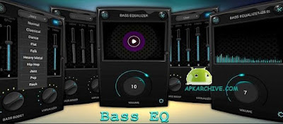 Equalizer & Bass Booster Pro Apk for Android (paid)