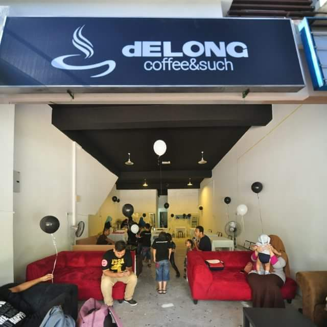Delong coffee & such shah alam