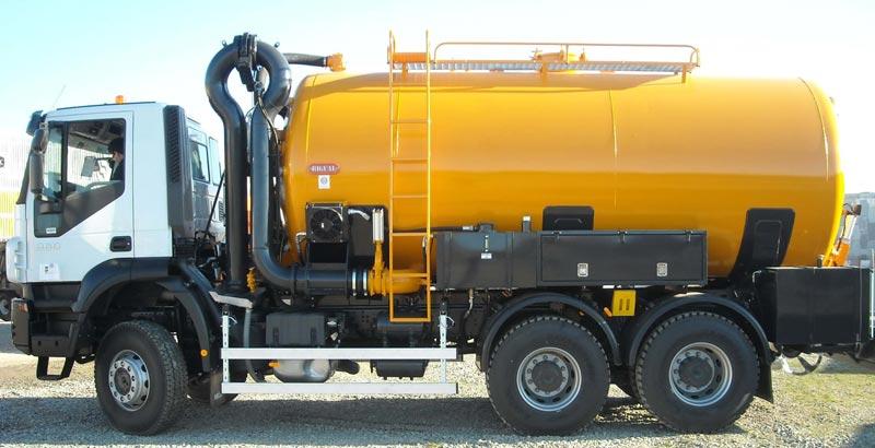 Transporte residuos peligrosos y no peligrosos