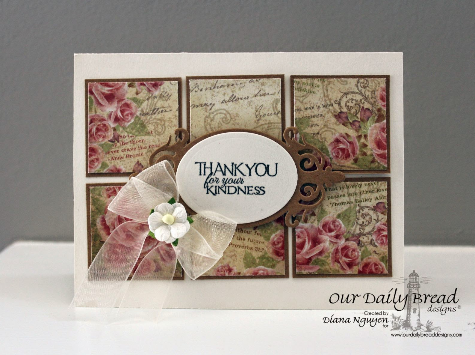 Diana Nguyen, ODBD, thank you card, Our Daily Bread Designs