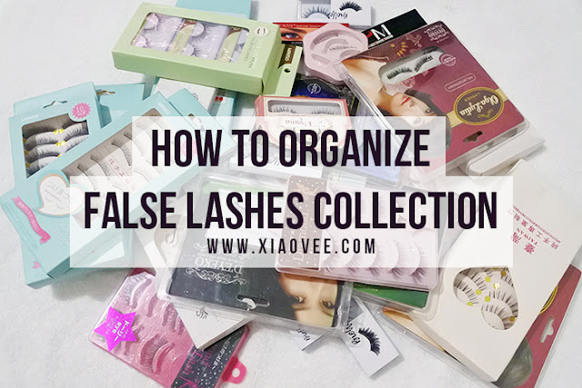 TIPS How to Organize False Lashes Collection, How to Organize Fake Lashes Collection, How to Organize Faux Lashes Collection, Cara merapikan koleksi bulu mata palsu, cara mengatur koleksi bulu mata palsu, false lashes tips, fake lashes tips, faux lashes tips, tips bulu mata palsu
