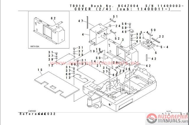Free Auto Repair Manual : Takeuchi 10.2014 Parts Manual