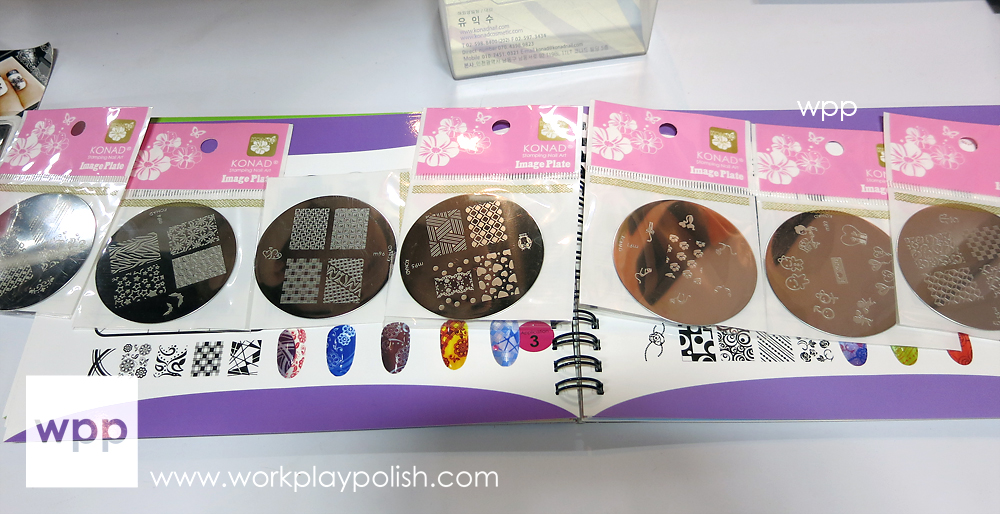 NEW! 7 Konad Stamping Plates all with a larger design