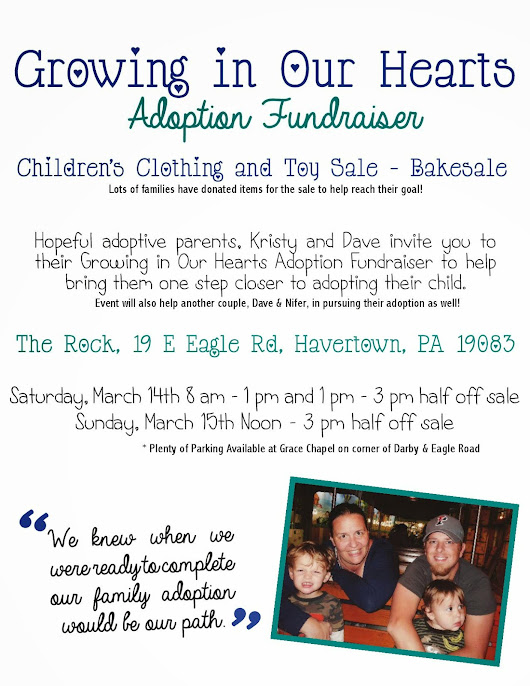 Two Family Fundraiser Coming March 14th!!!