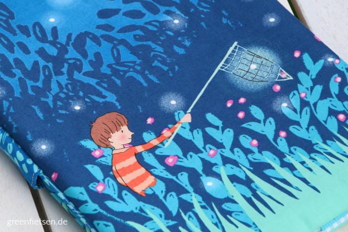 Windeltasche mit Glühwürmchen | Wee Wander von Sarah Jane