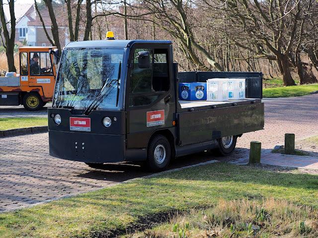 Langeoog, Fahrzeug, Elektrokarren