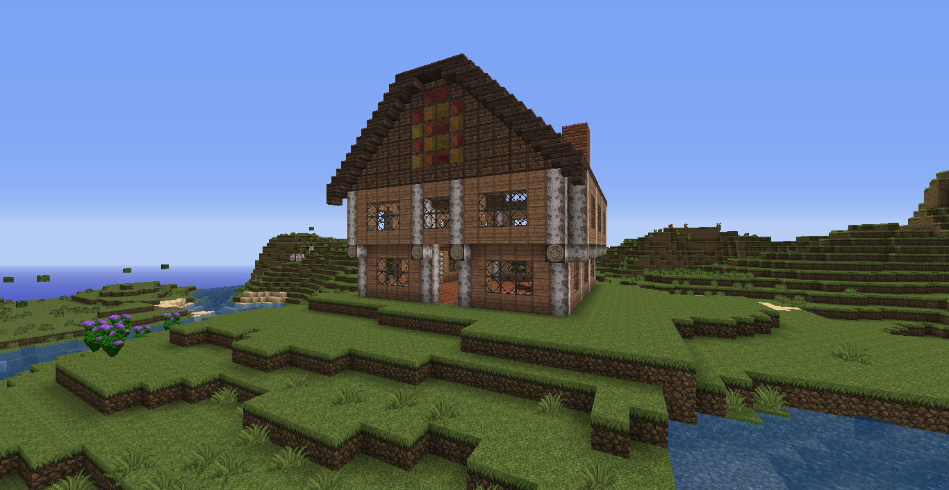 The Minecraft Times Medieval House Schematic