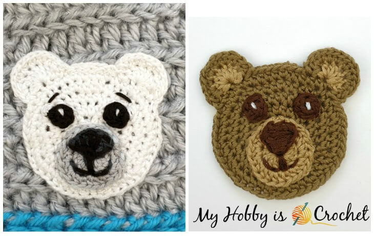 Free Crochet Bear Patterns – Amigurumi Patterns | Crochet bear ... | 461x730