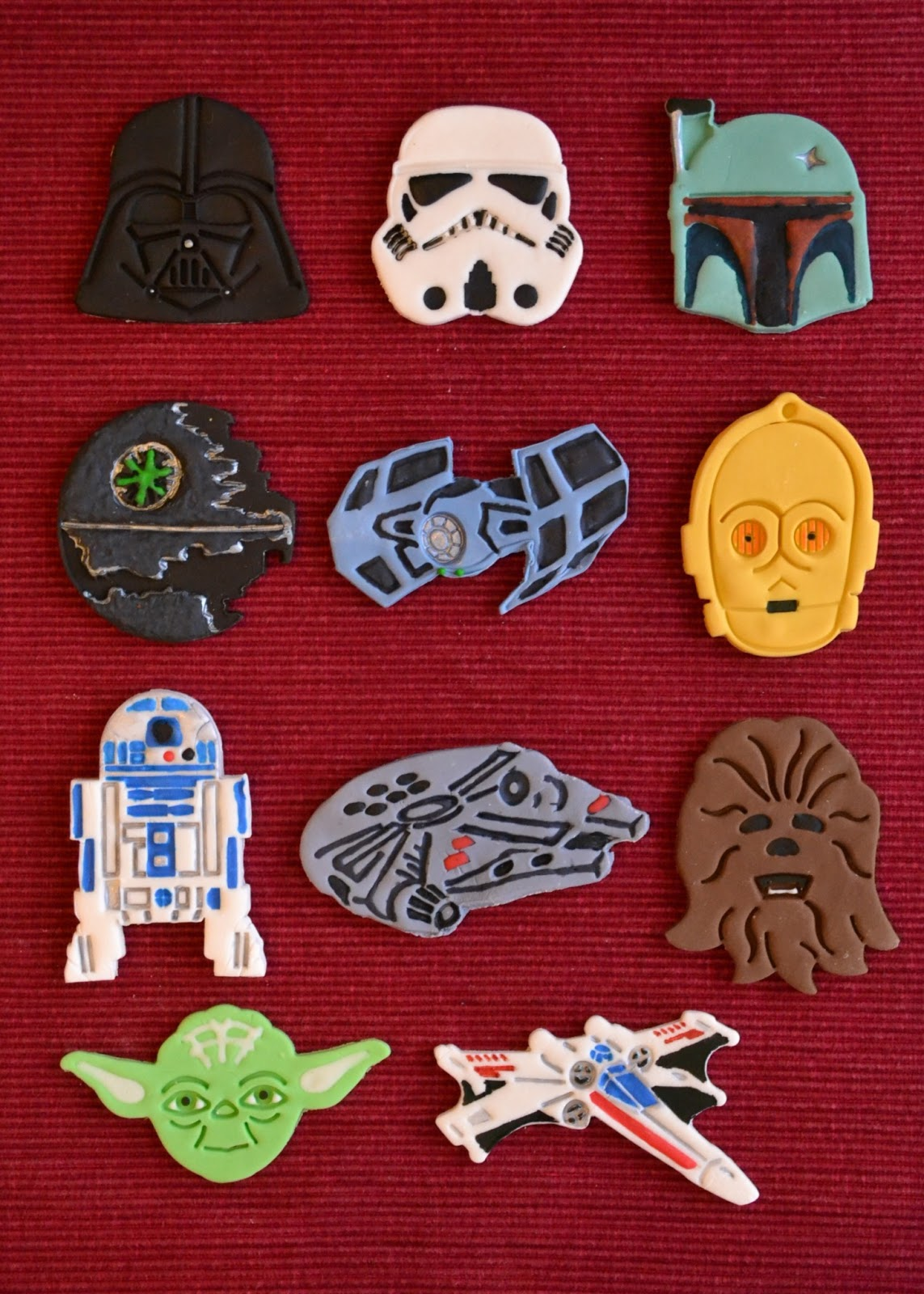 Growing Up Veg Edible Star Wars Cupcakes With Toppers