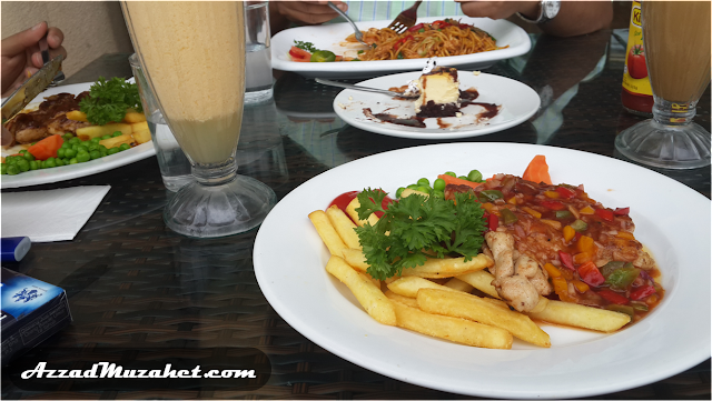Kelab Tasik Putrajaya_Makanan
