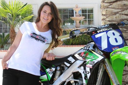 Sara Price 9 Pembalap Motocross Wanita Tercantik