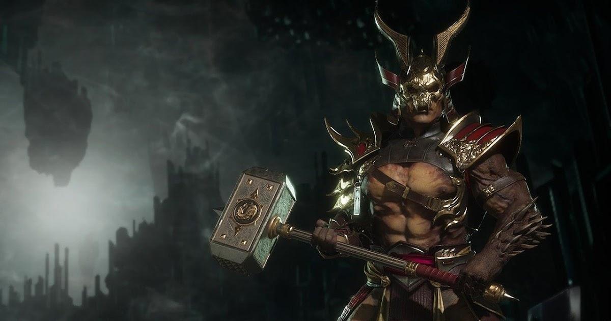 Mortal Kombat 11 Switch Shao Khan Recebe Trailer De