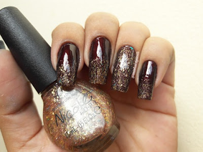 opi A Gold Winter's night