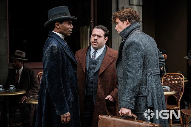 Newt, Jacob e Yusuf se encontram em nova foto de 'Os Crimes de Grindelwald' | Ordem da Fênix Brasileira