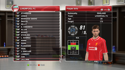PES 2014 Fire Patch 2014 version 6.0 AIO + Update 6.1 Season 2014/2015