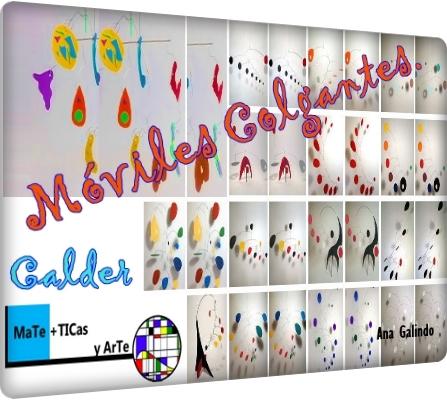 Esculturas móviles y Calder. Movimiento, punto de equilibrio y peso.
