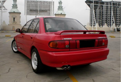 Eksterior Mitsubishi Evo 3 Modifikasi