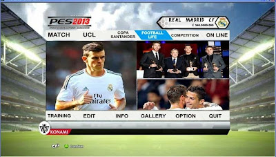 PES 2013 Graphic FIFA14 (Real Madrid) by Lingga Imanul Haq