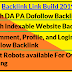 Make High DA PA Dofollow Backlink For Blog/Website Ranking - W3Survey
