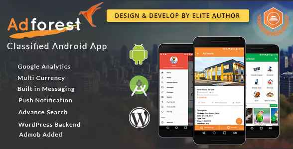 AdForest - Classified Native Android App - DastgeerTech