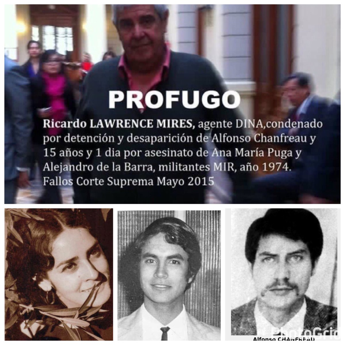 COLECTIVO ACCION DIRECTA: SE BUSCA: RICARDO LAWRENCE, UN ASESINO DE ...