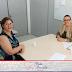 Reunião com a secretária Sandra Rebelato