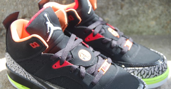 the best attitude c6419 dc0e9 ajordanxi Your  1 Source For Sneaker Release Dates  Girls Jordan Son Of Mars  Low GS Black Light Armory Blue-Volt-Fire Red September 2013