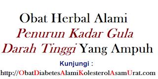 Obat herbal alami penurun kadar gula darah tinggi yang ampuh