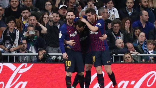 Barcelona Akhirnya Jadi Penguasa El Clasico Usai 87 Tahun 2019