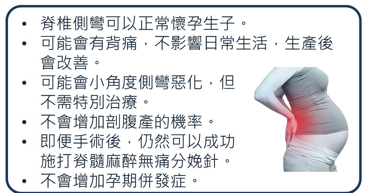 姚又誠: 脊椎側彎患者可以正常懷孕嗎?