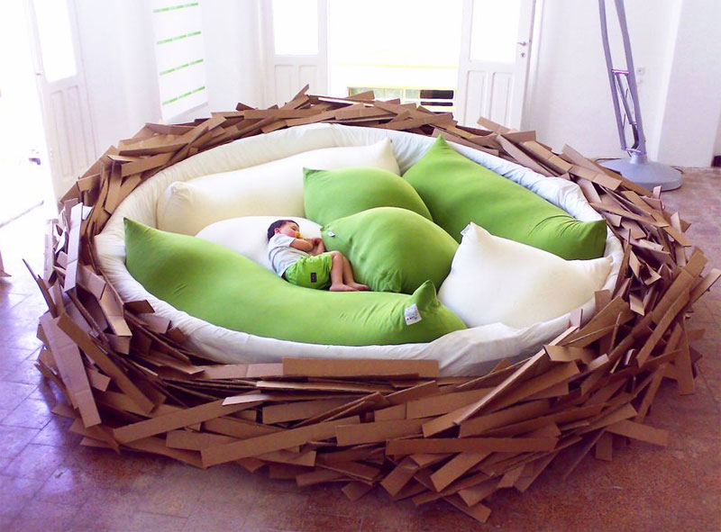 Could This Be The Comfiest Chair In World You Would Never Want To Leave Nest Created By O Ge Merges Furniture And Fun 4 5 Metre Wide Giant