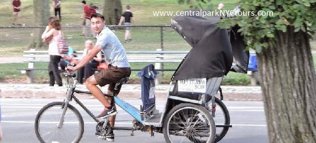 Pedicab Rickshaw Tours at Central Park - New York
